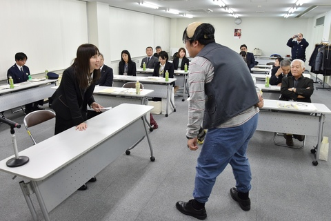 Stop the 振り込め詐欺! 井波社会福祉センターで振り込め詐欺水際対策研修会開催の画像